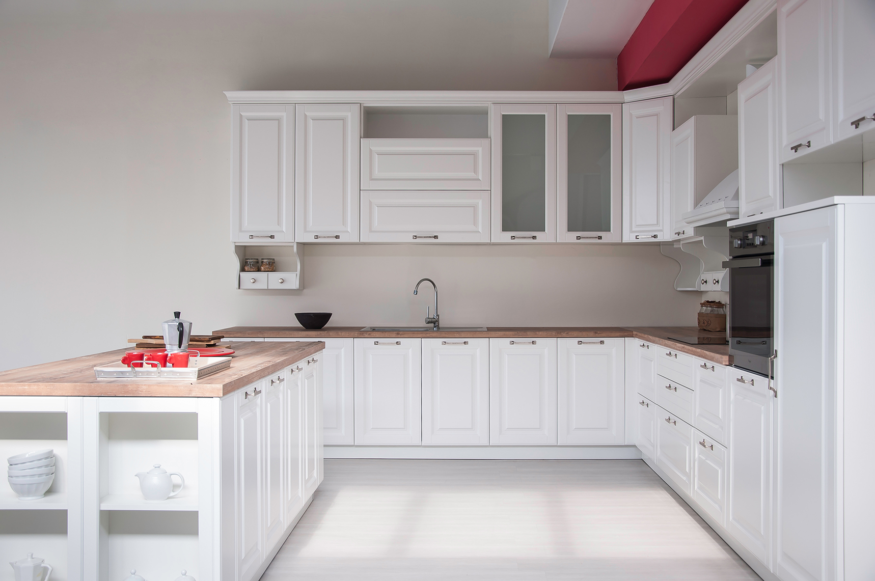 Chic, always and forever, Epoca new classic kitchen design by GACAFERI